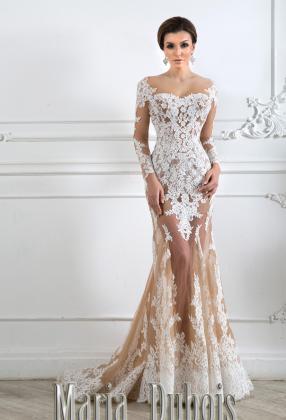 Свадебное платье трансформер полупрозрачное