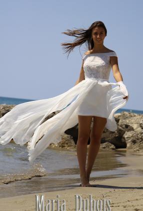 Пляжное свадебное платье купить