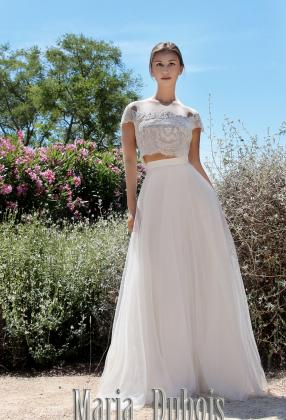 Легкое свадебное платье для пляжной церемонии